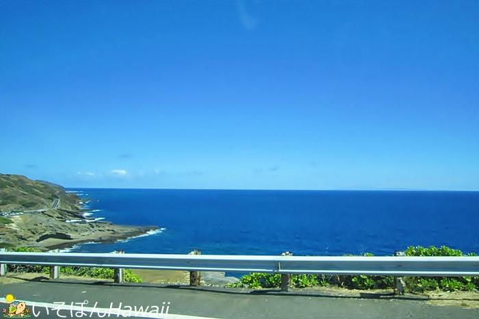 マカプウ岬近辺の風景