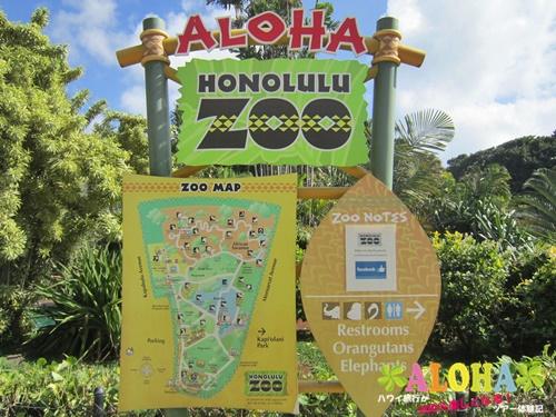 ホノルル動物園内画像1