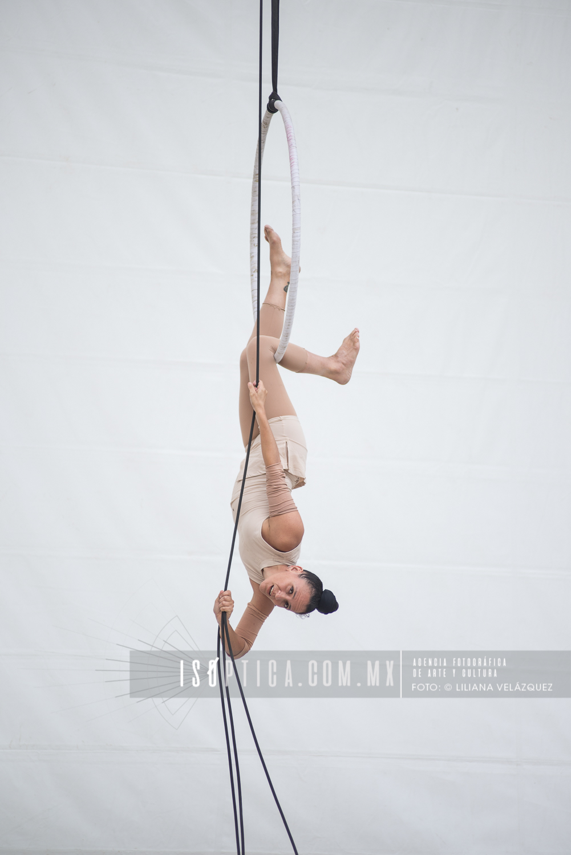 Mermejita Circus en la 3ra Emisión del Festival Internacional E