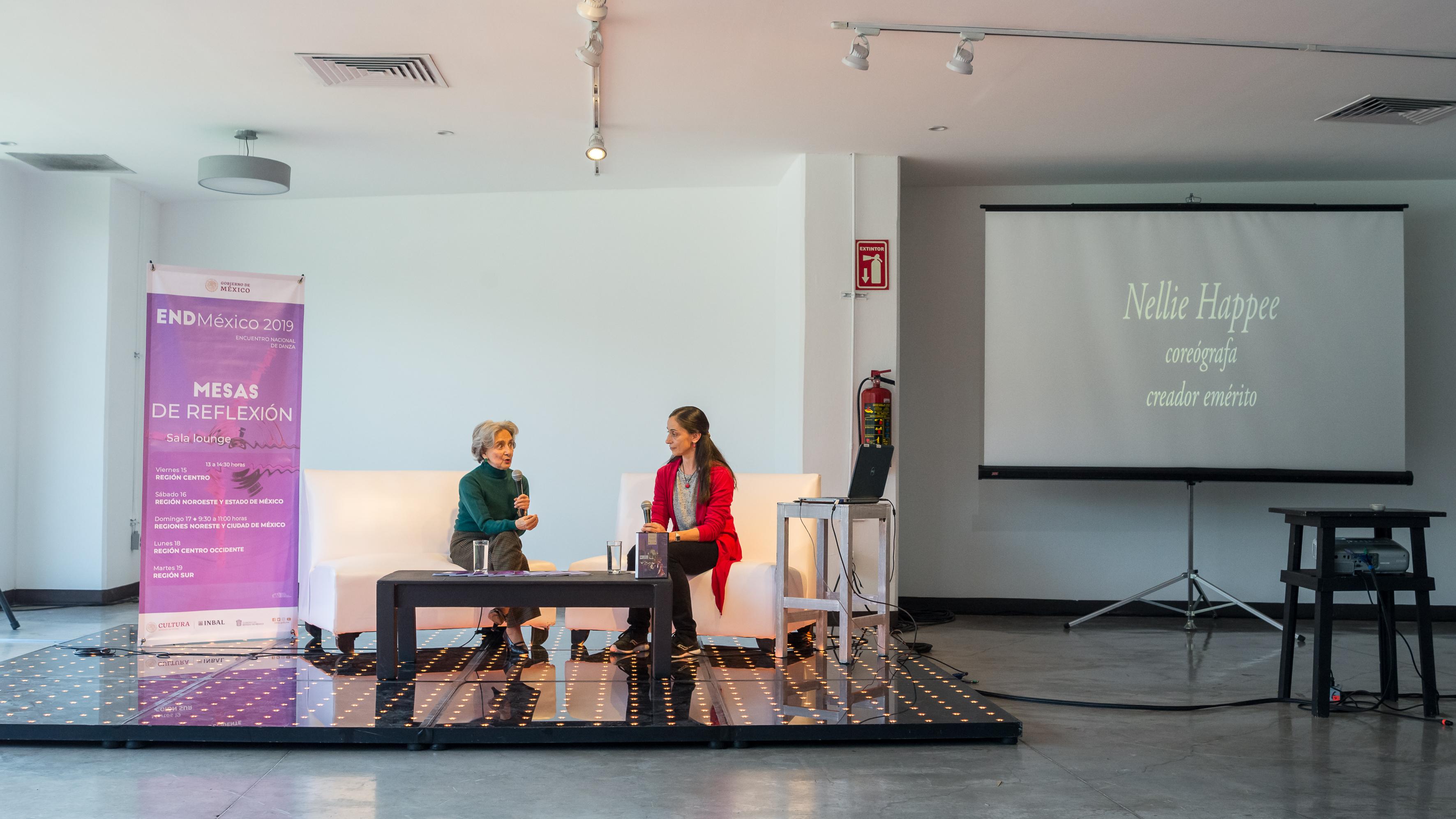 Charla Magistral, Nelliee Happe, Sala lounge, Fotografía:©Glor