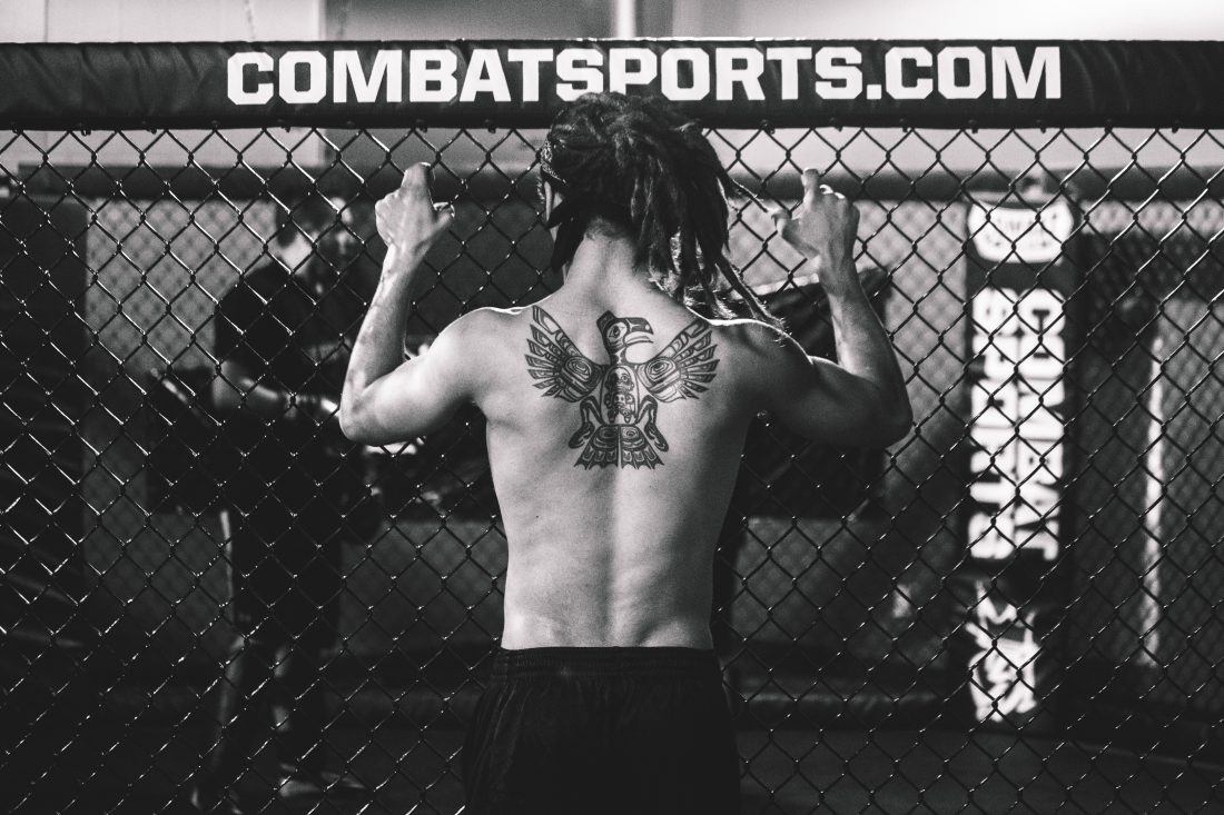 mma fighter free stock