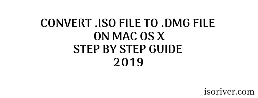 convert .iso to .dmg on mac