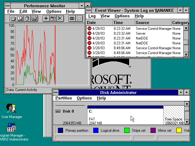 If are you looking for Windows NT 3.1 for workstation and server ISO file for free download