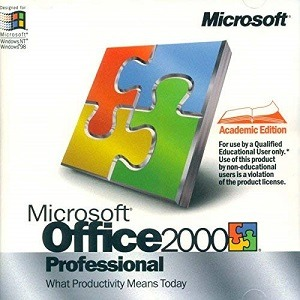 Microsoft Office 2000 Professional Download for free 2