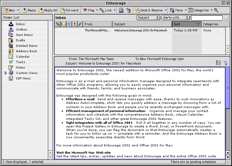 Download Microsoft Office 2001 for Mac 2