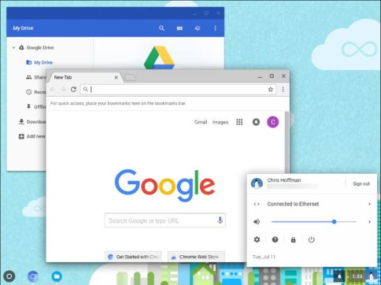 Where can you Download Google Chrome OS ISO document for Windows