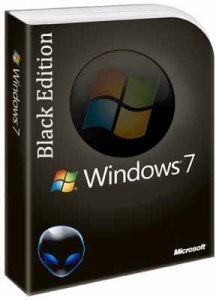 Download Windows 7 Black Edition ISO 32 / 64 Bit for free 2