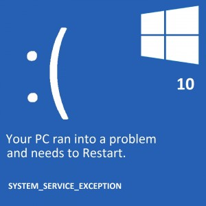Fixed: System Service Exception Stop Code in Windows 10 (Solved)