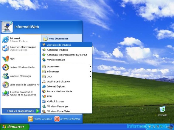 Step by step process to Activate Windows XP for free