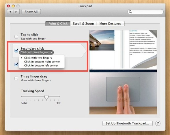 How to right-click on Mac