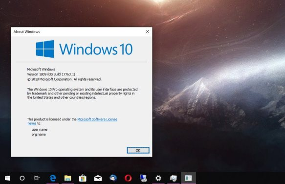 If are you looking for download Windows 10 1809 for free
