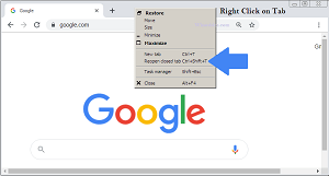 Restore Chrome and Open Closed Tabs on Google Chrome [Updated 2020]