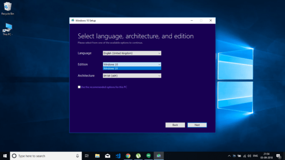 You can download Microsoft Windows 10 Professional ISO  for free