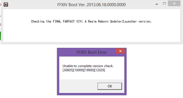 How to Fix FFXIV Unable to Complete Version Check or Updates