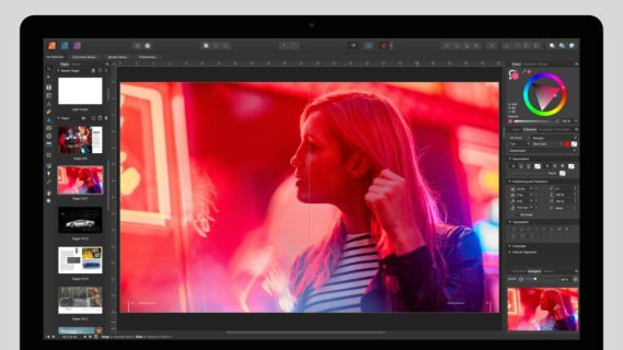 Download Serif Affinity Publisher 1.7 complete version for free