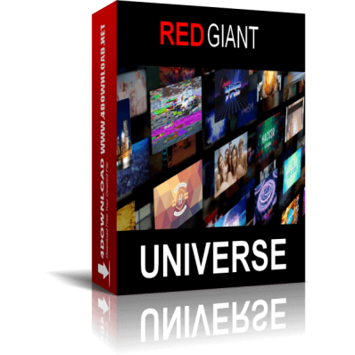 You can download Red Giant Universe 3.2 for free