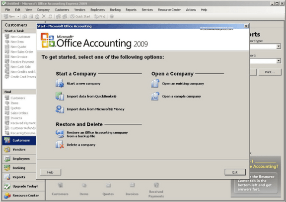 Download Microsoft Office Accounting Express US Edition 2009 for free