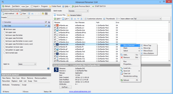 Advanced Renamer 3.81 Full Version Download for free 2
