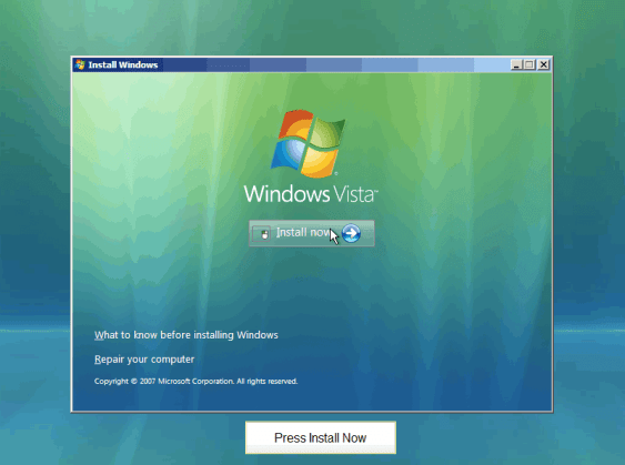 Windows Vista Business Edition ISO Full Version Free Download 1