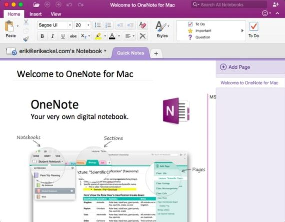 Microsoft OneNote 2016 Download - Full Version for free 1