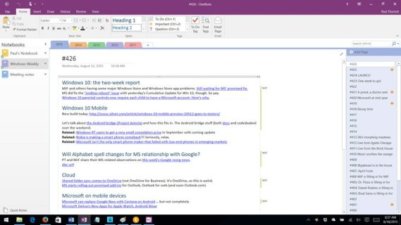 You can download Microsoft OneNote 2016 for free