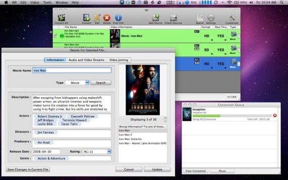 iVI Video Converter 4 Free Download for Mac 1