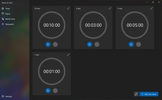 Windows 10 Alarms & Clock app gets a major redesign for Insiders