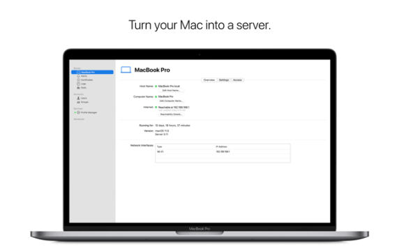 You can download macOS Server 5.11
