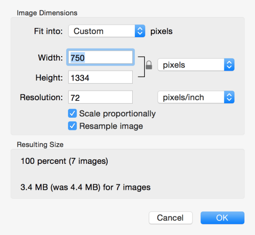 Photo Size Changer Free Download for Mac 1