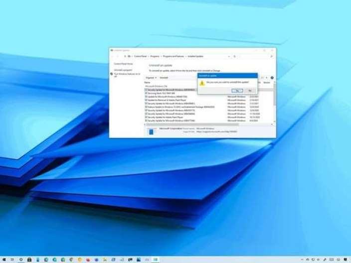 Fix: Blue Screen Error after update KB5000802 on Windows 10