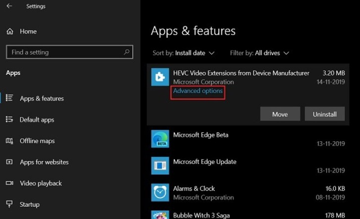 Download and Install Windows HEIF and HEVC codecs