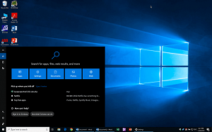 Windows 10: Way to Add the Lock Option To Start & Taskbar