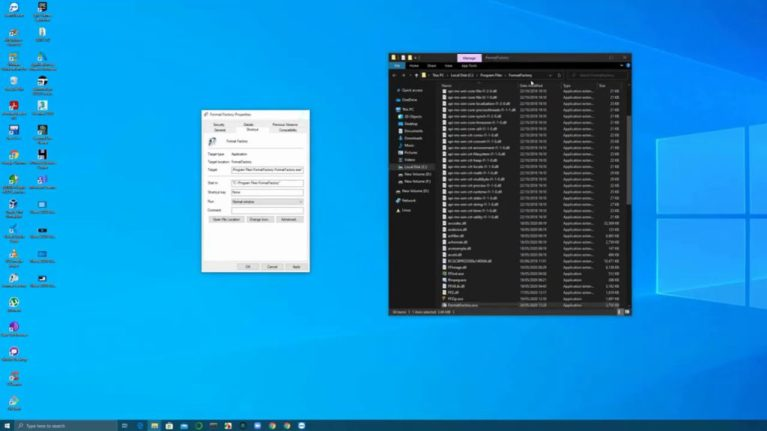 How to quickly find a program's EXE file in Windows 10