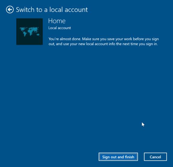 Unlinking Windows Key on Microsoft Account