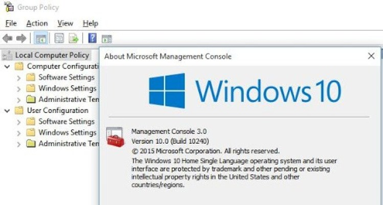 Enable Group Policy Editor (gpedit.msc) in Windows 10 Home Edition