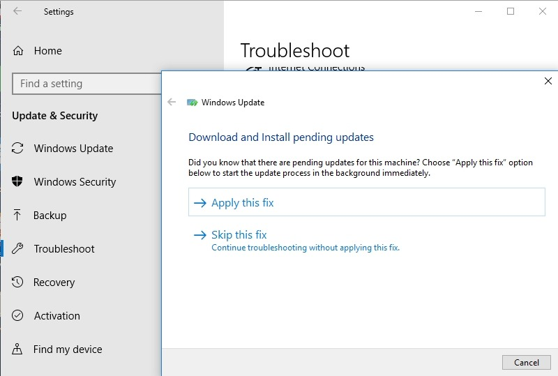 Fixed: Error 0xc1900204 Blocks Windows 10 Updates 1