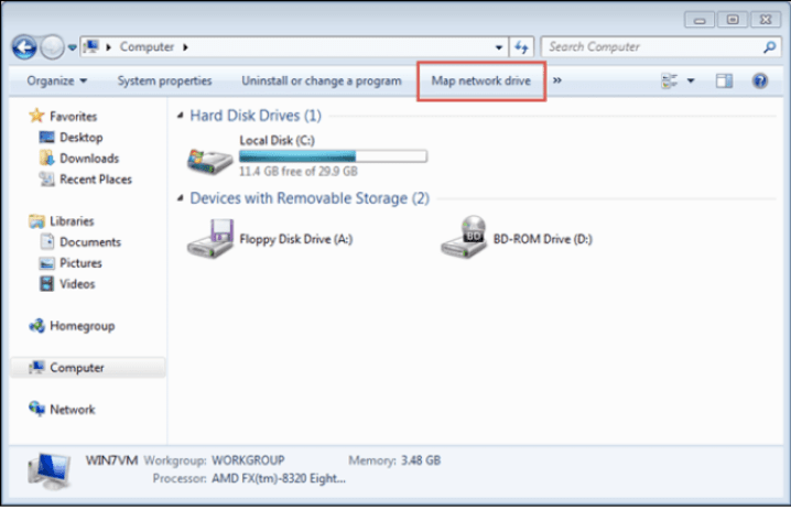 Fixed: Windows 10 can't Map the Network Drive 2