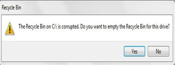 Fixed: Recycle Bin file Association Error for Windows 3
