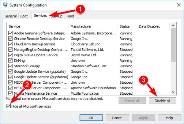 Fixed: Update Error 0x8024a10a on Windows 10, 7 2