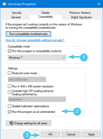 Solved - Windows Live Mail not working on Windows 10 3