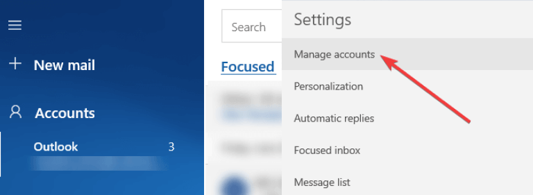 How to Log Out of Mail App in Windows 8, 10 3