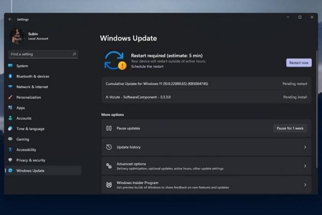 Windows 11 Build 22000.120: New Features & Fixes 3
