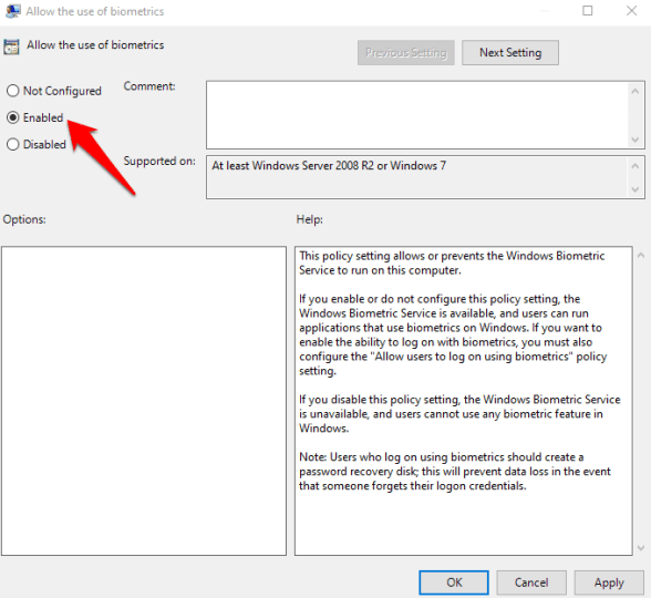 Fixed: Fingerprint doesn't work on Windows 10 - Quick Guide 3