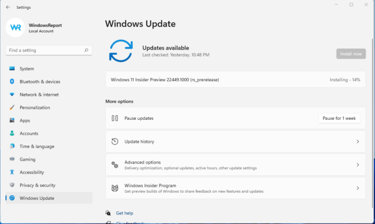 Windows 11 Build 22449: First Experimental Build from Microsoft 3