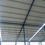 Panel sandwich para techos