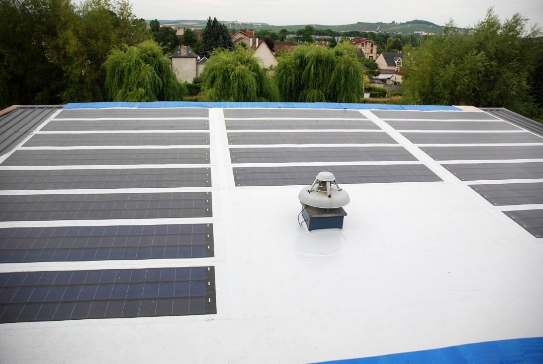 Photovoltaïque sur membrane