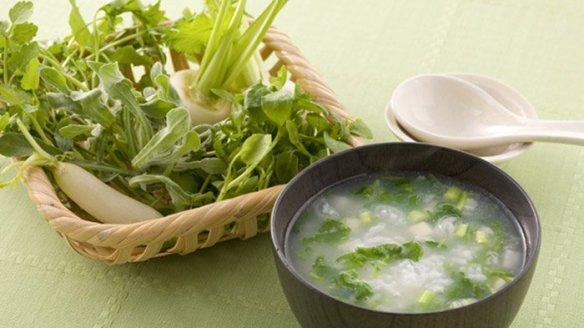 Nanakusa-gayu, bubur nasi untuk tahun baru