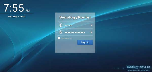 Synology 1900ac Router SRM