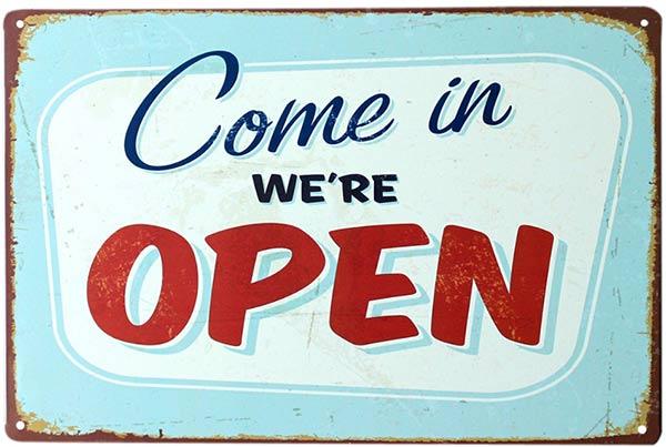 local para un negocio abierto