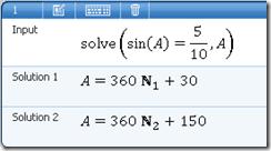 Persamaan Trigonometri Microsoft Mathematics
